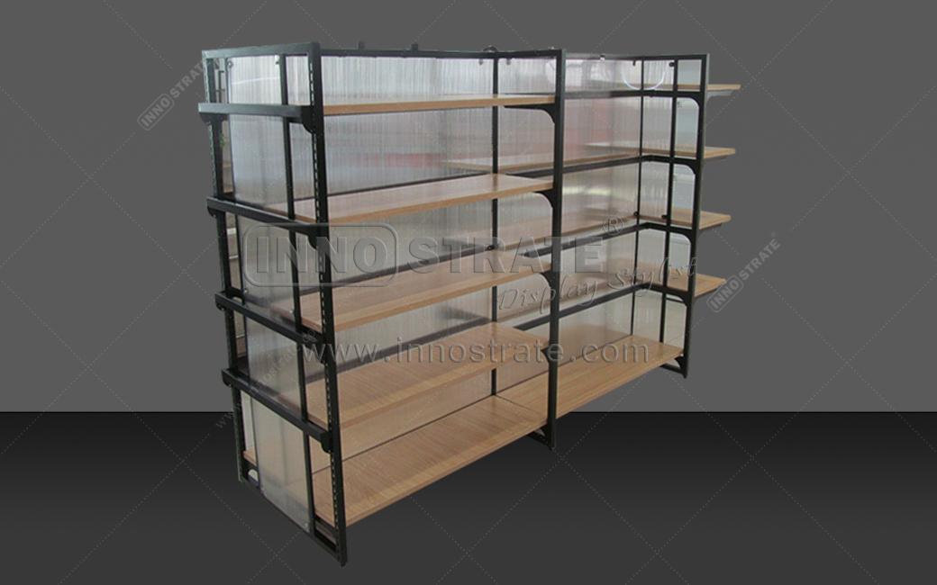 Factory best selling Granite Slab Rack - SD004  Supermarket Shelf Display Cabinet – INNOSTRATE
