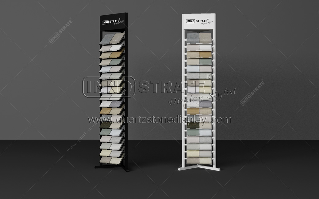Bottom price The Marble Tile Display Rack For Showroom