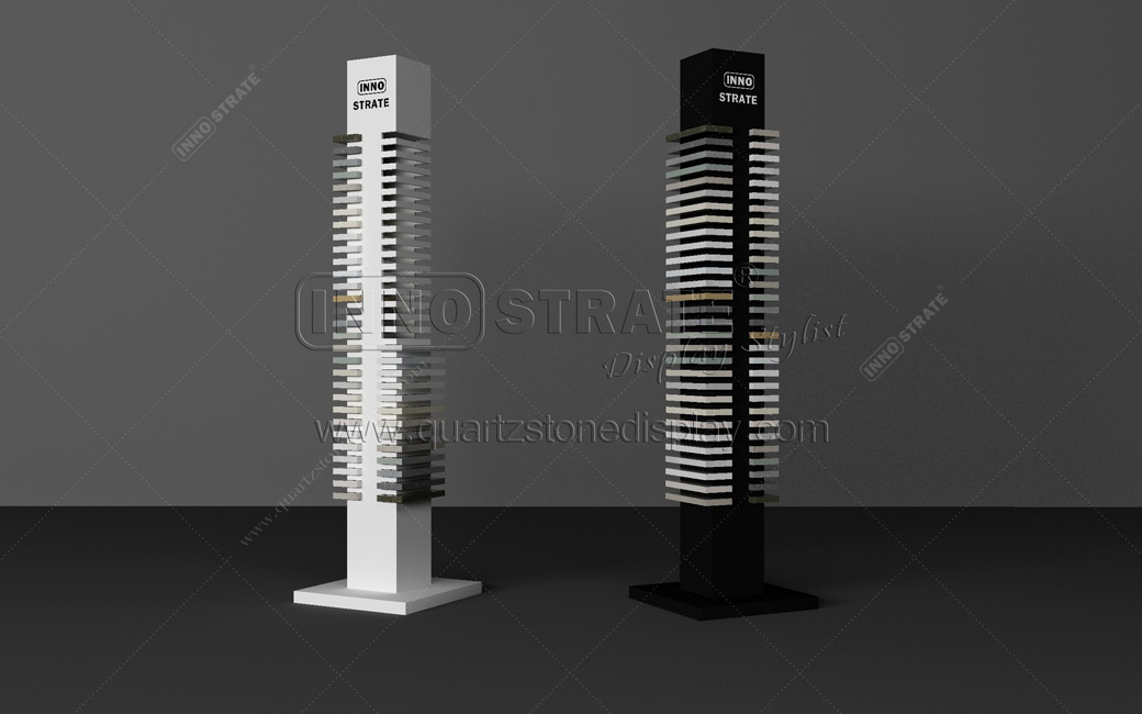 QD009 Quartz Stone Display Rack Featured Image