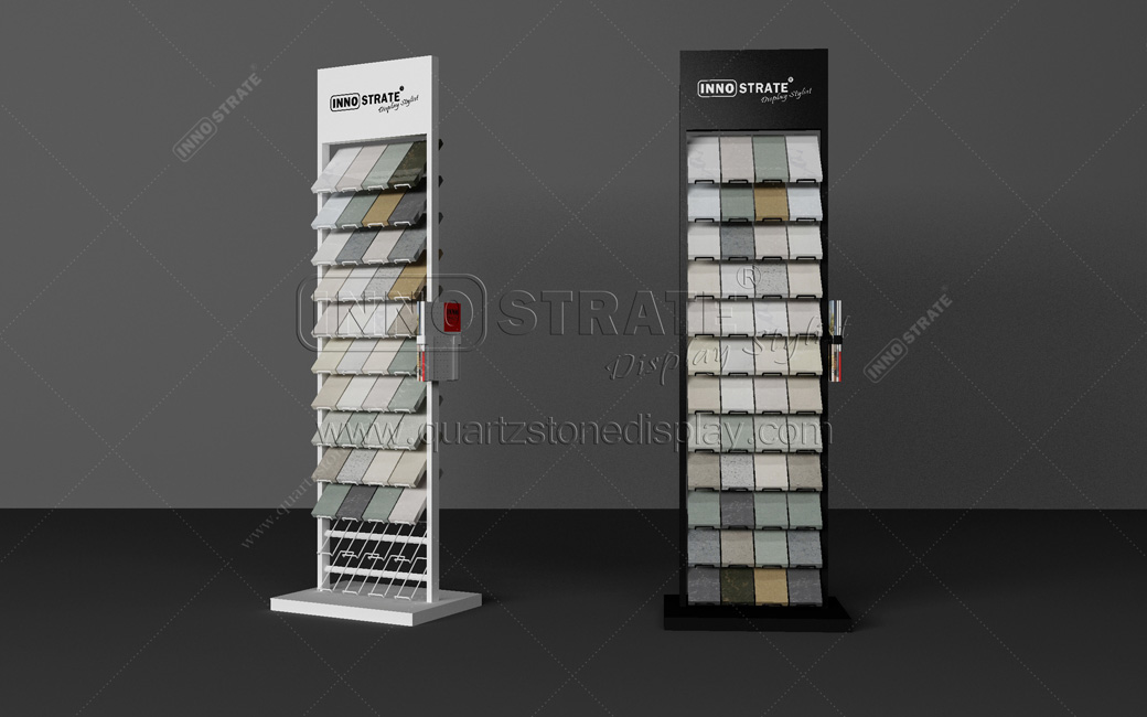 QD011 Quartz Stone Display Rack Featured Image