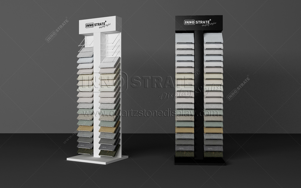 QD012 Quartz Stone Display Rack Featured Image