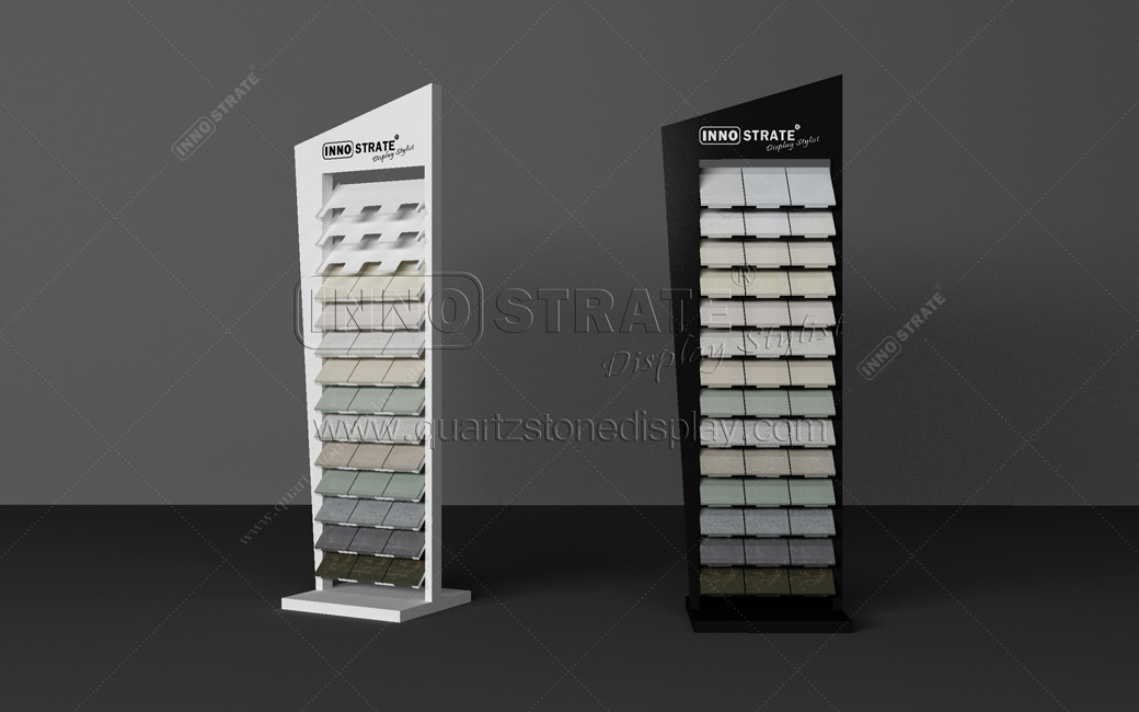 QD017 Quartz Stone Display Rack Featured Image
