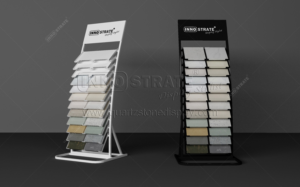 Big Discount Marble Slab Display Rack For Showroom Exhibition
