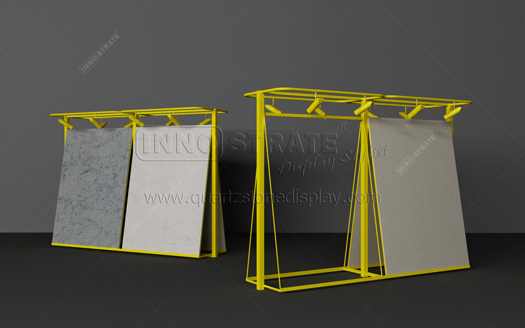 Factory Supply Stand Marble Slab Display Stand Stone -
