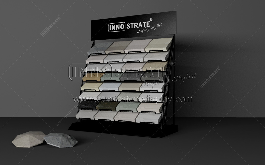 3 kind of stone display stands commonly used in stone exhibitions.