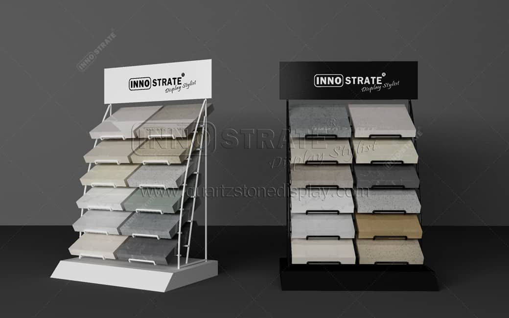 QT012 Stone Table Display Rack Featured Image