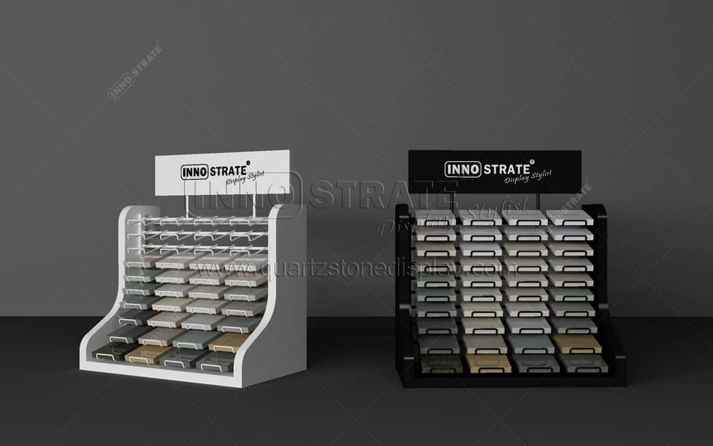 Manufacturer for Shelf Supermarket Display Racks - QT014 Stone Table Display Rack – INNOSTRATE Featured Image