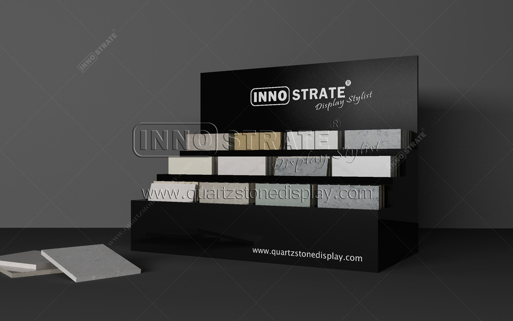 China OEM Metal Display Rack For Cut Stone Panels - QT001 Quartz Table Display – INNOSTRATE