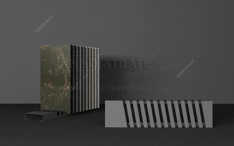 Discount wholesale Color Quartz Stone - TC017 Stone Sample Display Rack – INNOSTRATE