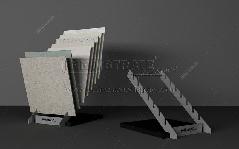 Professional China Slab Displays - TC020 Stone Simple Display Rack – INNOSTRATE