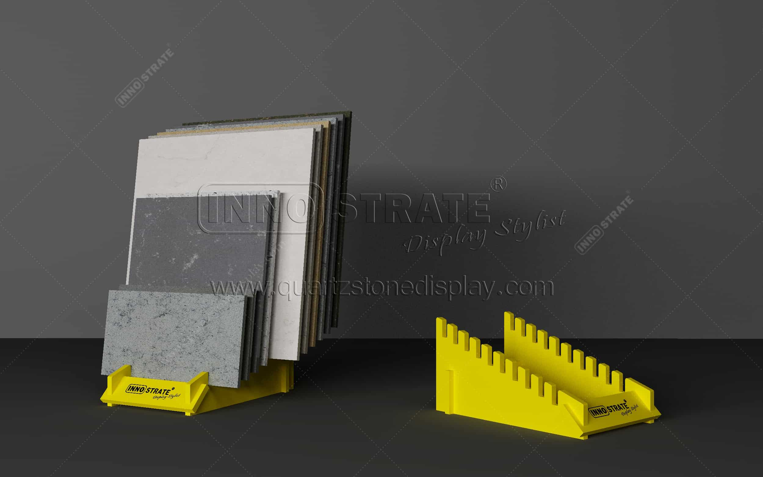 TC025 Stone Sample Display Rack