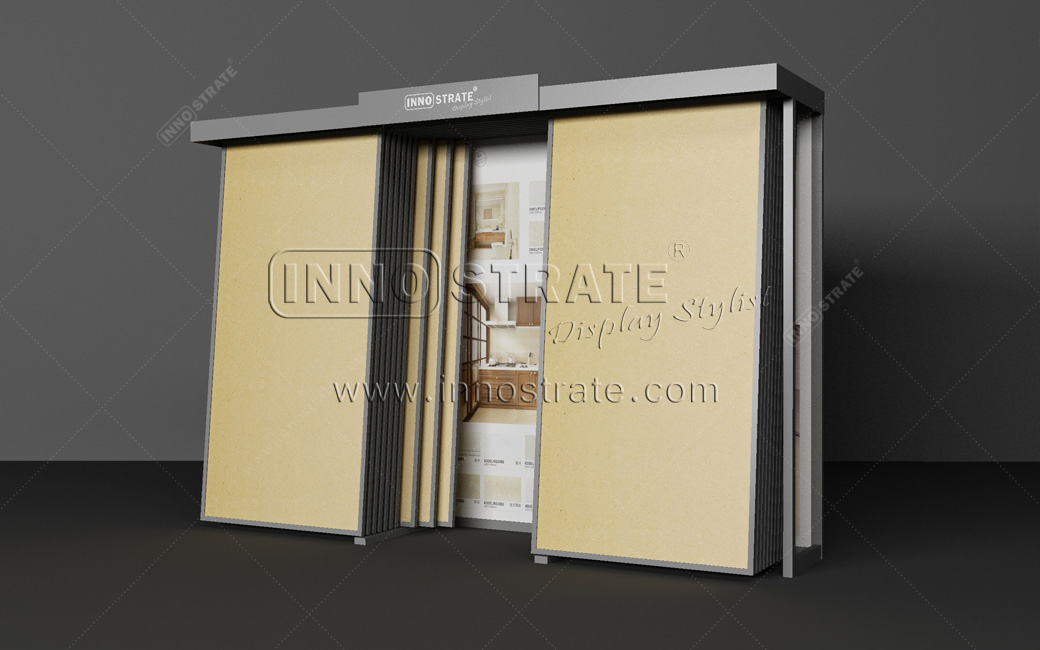 TD013 Stone Granite Display Cabinet
