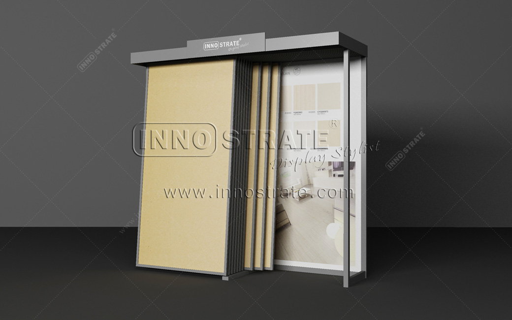 Special Design for Presentation Display Books - TD014 Stone Marble Display Rack – INNOSTRATE