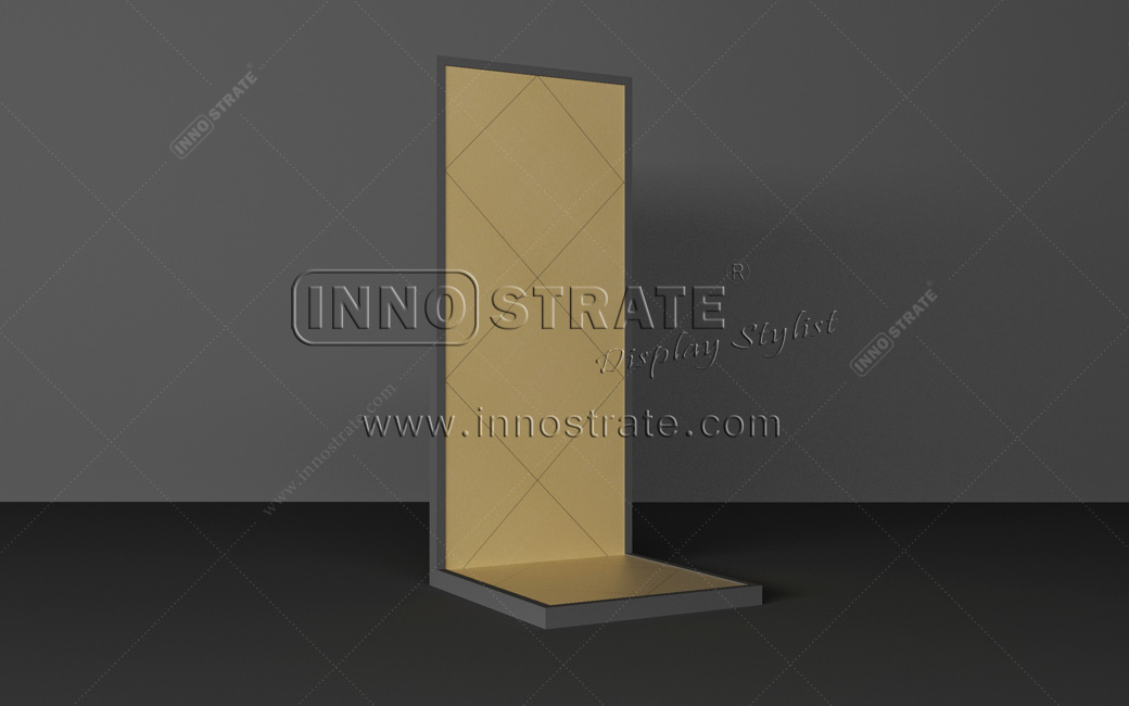 2019 Latest Design Retail Store Wood Display Shelves Supermarket Rack Wood Chips Display Rack