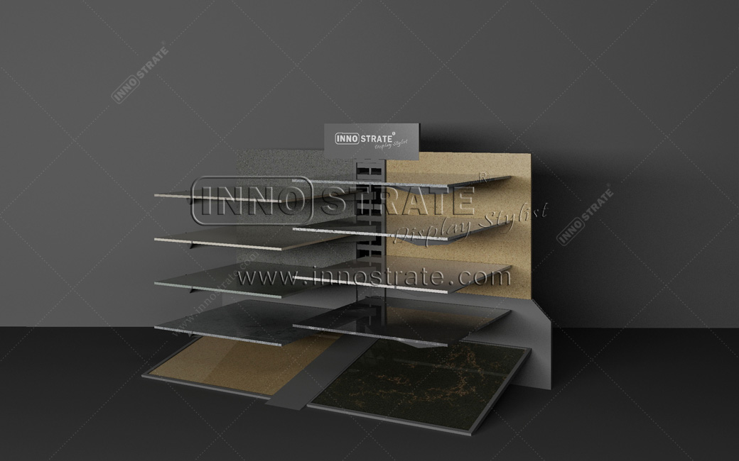 TO006 Stone Marble Display Rack Featured Image
